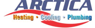 Arctica Heating and Cooling Logo Design, website design
